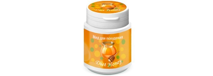 мед diet honey фото